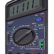 Industrial digital multimeter isolated - Stock Photo