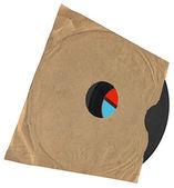 Vintage vinyl 78 rpm post isolerade — Stockfoto