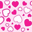Pink hearts background — Stock Vector #1862853