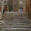 Stairs in Pitigliano — Stock Photo #2030564