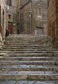 Stairs in Pitigliano — Stock Photo