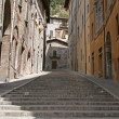 Royalty-Free Stock Photo: Stairs in Gubbio