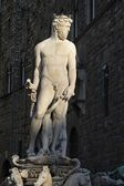 Poseidon statue in Florence — Stock Photo