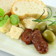 Stock Photo: Plate of antipasti