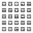 Web icons — Vector de stock