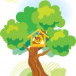 Birdhouse - Stock Vector