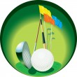 Stock Vector: Golf