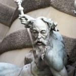 статуя Нептуна — Стоковое фото #1912352