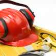 Safety gear — Stockfoto