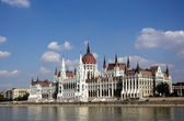 Building of the Parliament of Hungary — Stock Photo