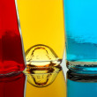 Stock Photo: Color liquids