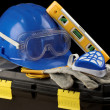 Safety gear kit - Stockfoto