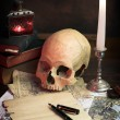Desk of alchemist — Stock Photo #2295917