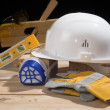 Safety gear kit — Stock Photo #2296124