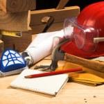 Safety gear kit — Stock Photo #2296191