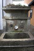 Bronze fountain — Stock Photo
