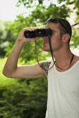 Pozorovatel — Stock fotografie