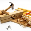Carpenter's tool — Stock Photo