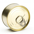 Stock Photo: Tin can