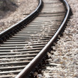 Train tracks - Stock Photo