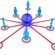 Global networking — Foto de Stock
