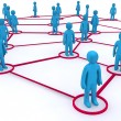 Networking — Foto de Stock