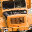 Old orange truck — Stock Photo
