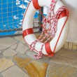 White life buoy — Stock Photo