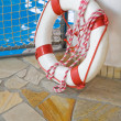 White life buoy — Stock Photo #1918010