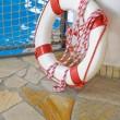 White life buoy — Stock Photo