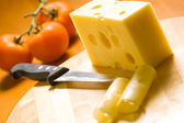 Delicious cheese — Stock Photo