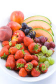 Fruit plate — Stock Photo