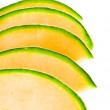 Sliced melon — Stock Photo