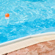 At the swimming pool — Stock Photo