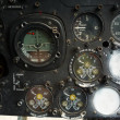 Stock Photo: Aircraft gage panel