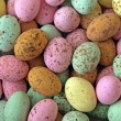 Easter, chocolate sweets. — 图库照片