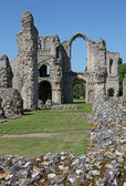 Castle Acre Priory in Norfolk. — Stock Photo