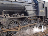 Steam engine No 90775 — Stock Photo