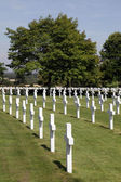American cemetery at Madingley Cambridge England — Foto Stock
