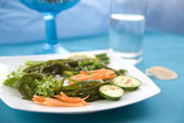 Seaweed with vegetables 4 — Stock Photo