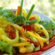 Bright salad — Stock Photo