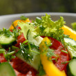 Salad from vegetables 12 — Stock Photo