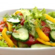 Salad from vegetables15 — Stock Photo
