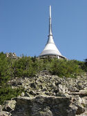 Tower Liberec Jested — Stock Photo