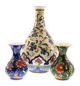 Three Turkish vase — Stock fotografie