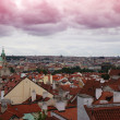 Prague summer panorama — Stock Photo