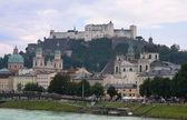 Panorama Salzburg — Stock Photo