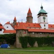 Stock Photo: Bouzov Castle