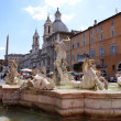 Fontana del Moro at Piazza Navona — Foto Stock