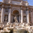 Trevi Fountain, Roma, Italy — Stock Photo #2124478